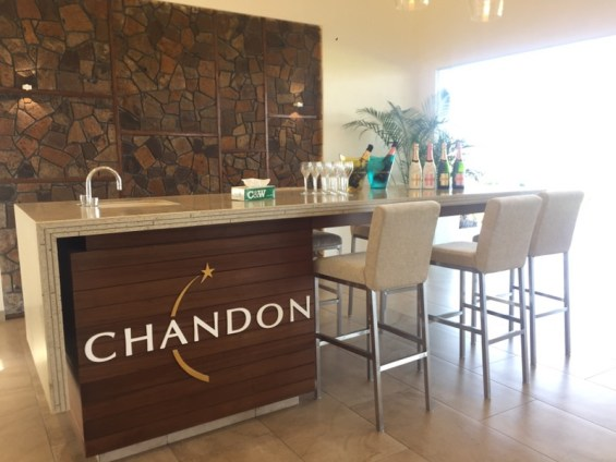 the tasting room at Chandon India, Nashik Valley, Maharashtra, Indian Wine