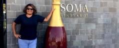 On the Wine Trail, Soma Vineyards Resort, Nashik Valley