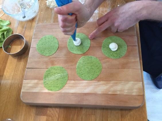 filling tortellin, Chef Danilo Cortellini, Italian Embassy, Masterchef Professionals