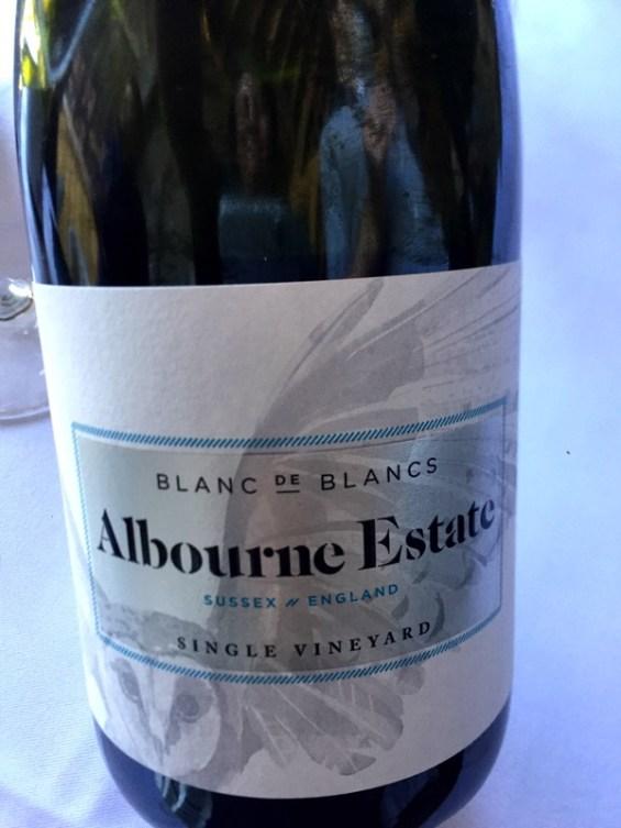 Blanc de blanc, single vineyard, Albourne Estate, Sussex, England, English Vineyard