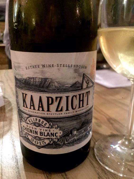 Kliprug Chenin Blanc 2015, Kaapzicht Estate, South Africa wine at Vivat Bacchus, London