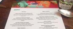 Dinner with Santa Maria's new Latin American Kitchen range