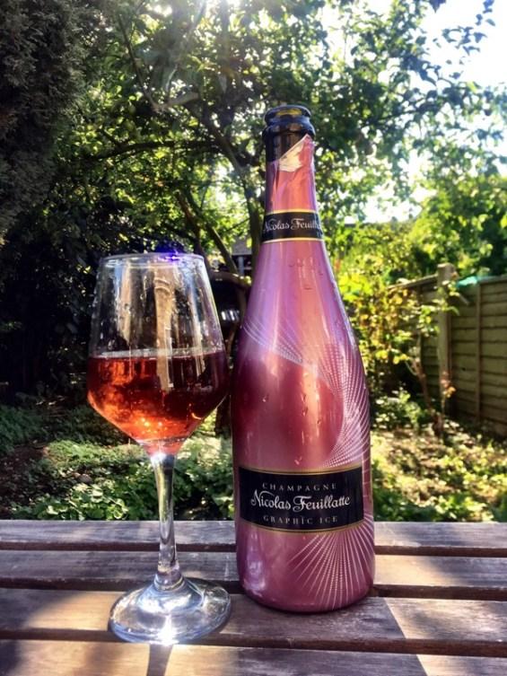 Nicholas Feuillatte Graphic Ice Rose Champagne