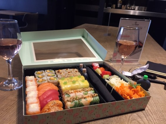 Sushi Shop Summer Box Marylebone London