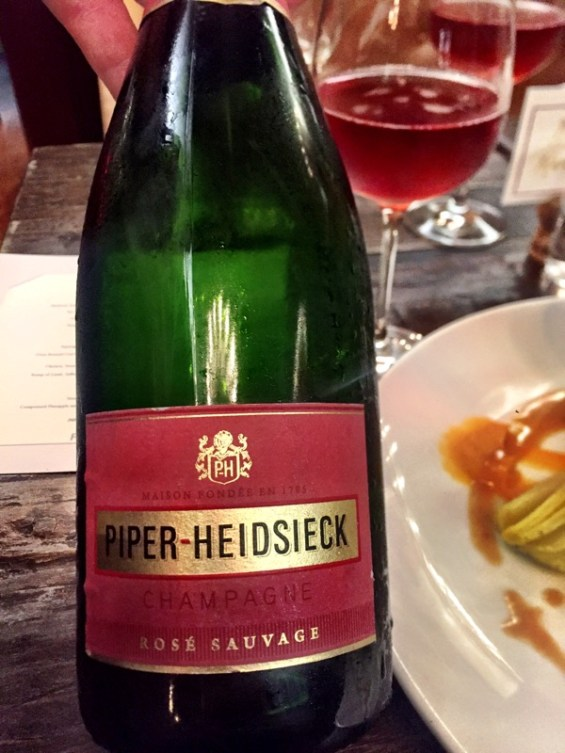 Piper-Heidsieck Rose Sauvage champagne London