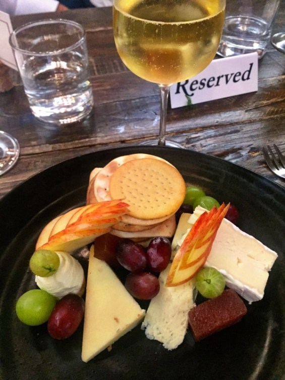 Cheese plate paired with Pipe Heidsieck champagne London