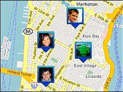 latitute-tracking-map