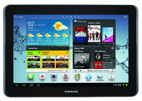5. Samsung Galaxy Tab 2 (10.1 Inch, WiFi) 2012 Model