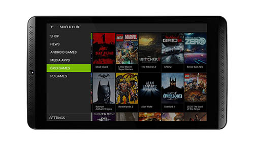 3. NVIDIA SHIELD Tablet (WiFi)