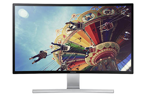 1. Samsung 27-Inch Curved LED