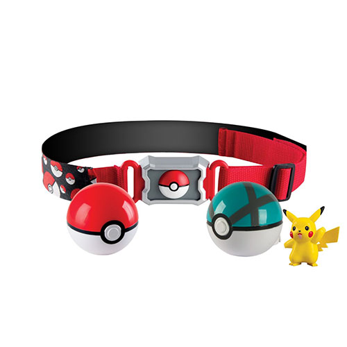 5. Pokémon Clip 'N' Carry Poké Ball Belt
