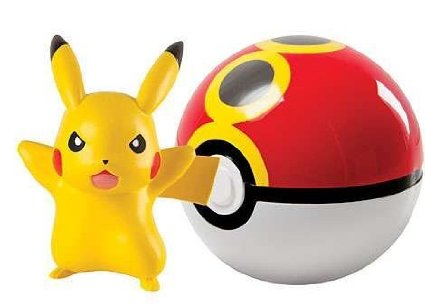 9. Pokemon TOMY Clip n Carry Pokeball