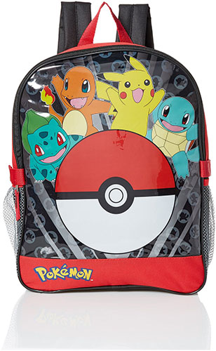 4. Boys' Pocket 15 Inch Backpack