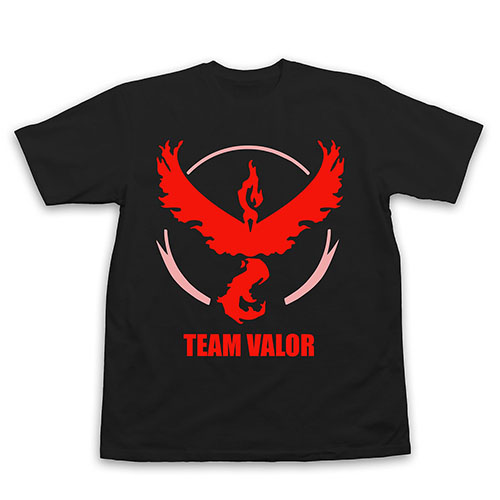 5. Pokemon Go Team Valor T-Shirt