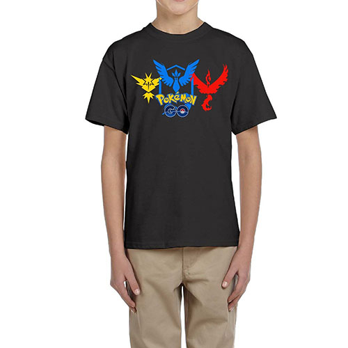 7. ZHUN Kids Pokemon Mystic Cotton T-shirts