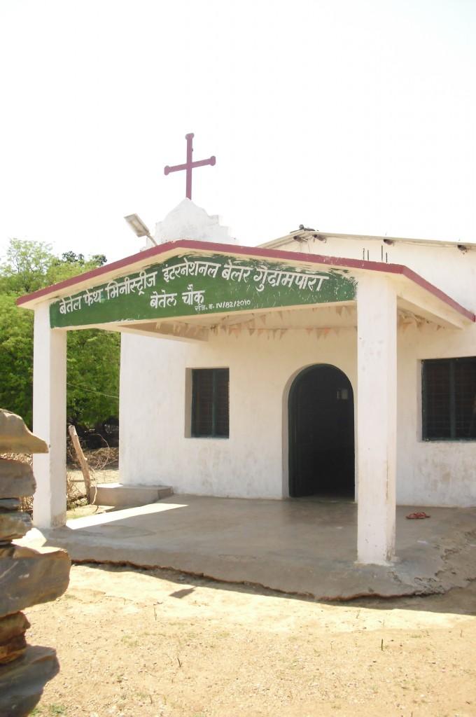 Church in Belar. Credit: Nandini Sundar