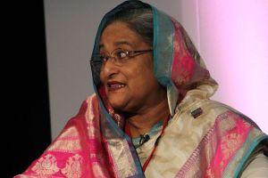 Bangladesh Prime Minister Sheikh Hasina. Credit: Wikimedia Commons