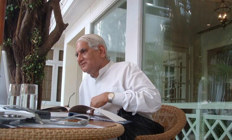 Charles Correa in Chennai, 2007. Photo: A. Srivathsan