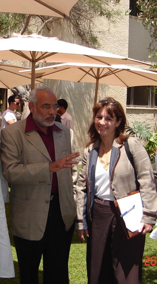 modi in israel 2007