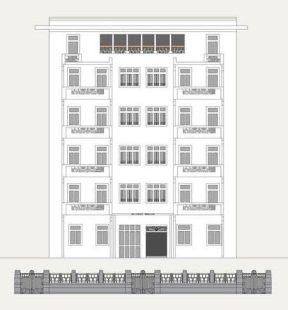 Motabhoy Mansion Elevation