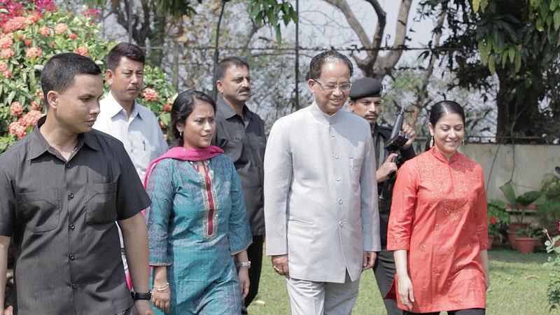 Chief Minister of Assam Tarun Gogoi (Photo: TeachAIDS)