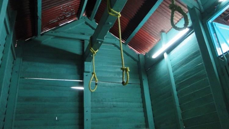 Cellular Jail gallows. Credit: Ankur P/Flickr CC BY-SA 2.0