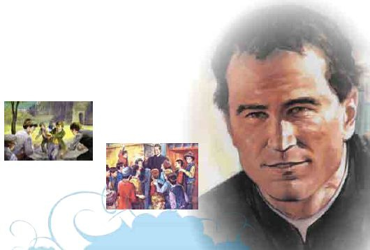 The Salesian Priest Don Bosco (Courtesy : Instituto Maria Auxiliadora)