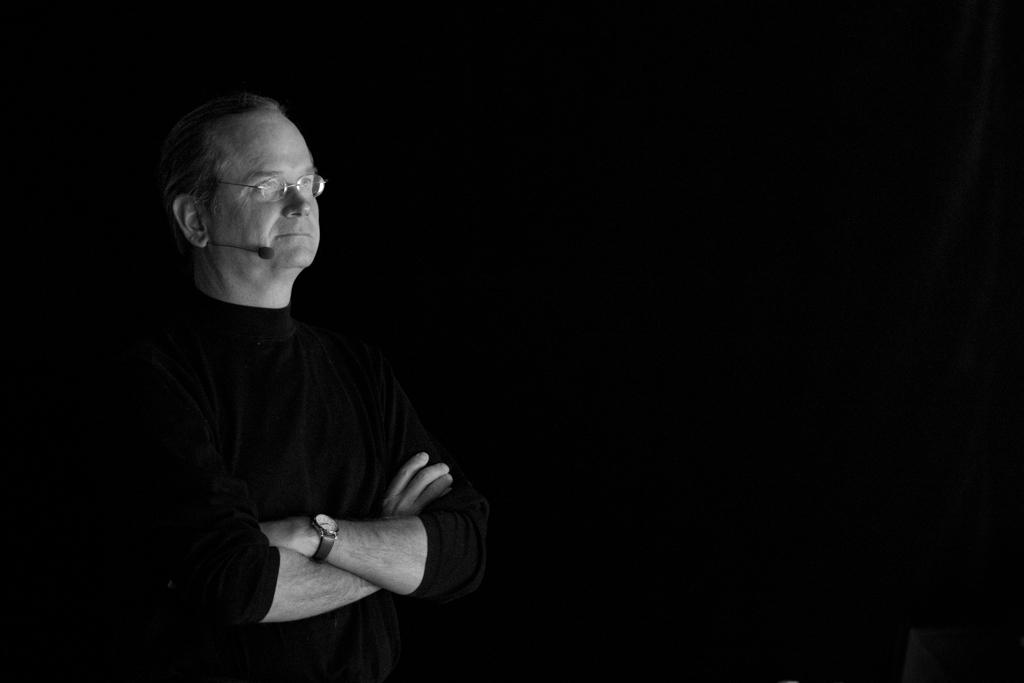 Harvard Law Professor Lawrence Lessig. Credit: Kristina Alexanderson,