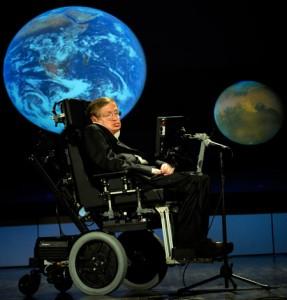 Stephen Hawking in 2008. Credit: Wikimedia Commons