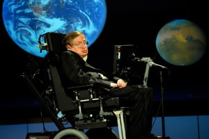 Stephen Hawking in 2008. Credit: Wikimedia Commons