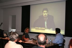 Maher Arar in a webcast conference. Credit: rightsatduke/Flickr, CC BY 2.0