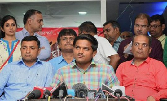 Hardik Patel. Credit: PTI Photo