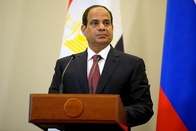President Fattah el-Sisi of Egypt who recently pardoned 100 prisoners including two Al Jazeera journalists