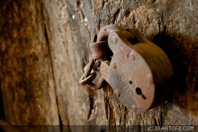 Locked for nothing. Credit: Anton Rehrl/Flick, CC BY-NC-ND 2.0