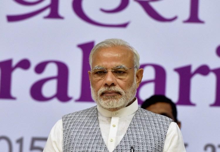 What is Narendra Modi thinking? Credit: PTI