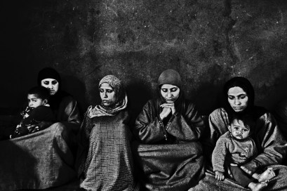 Smell of death lingers in the air as Tantrey's family mourns the death of a beloved at their home in Sopore. This is a hub of militancy with stray encounters between the terrorists and the security forces claiming many an innocent life. Credit: Shome Basu