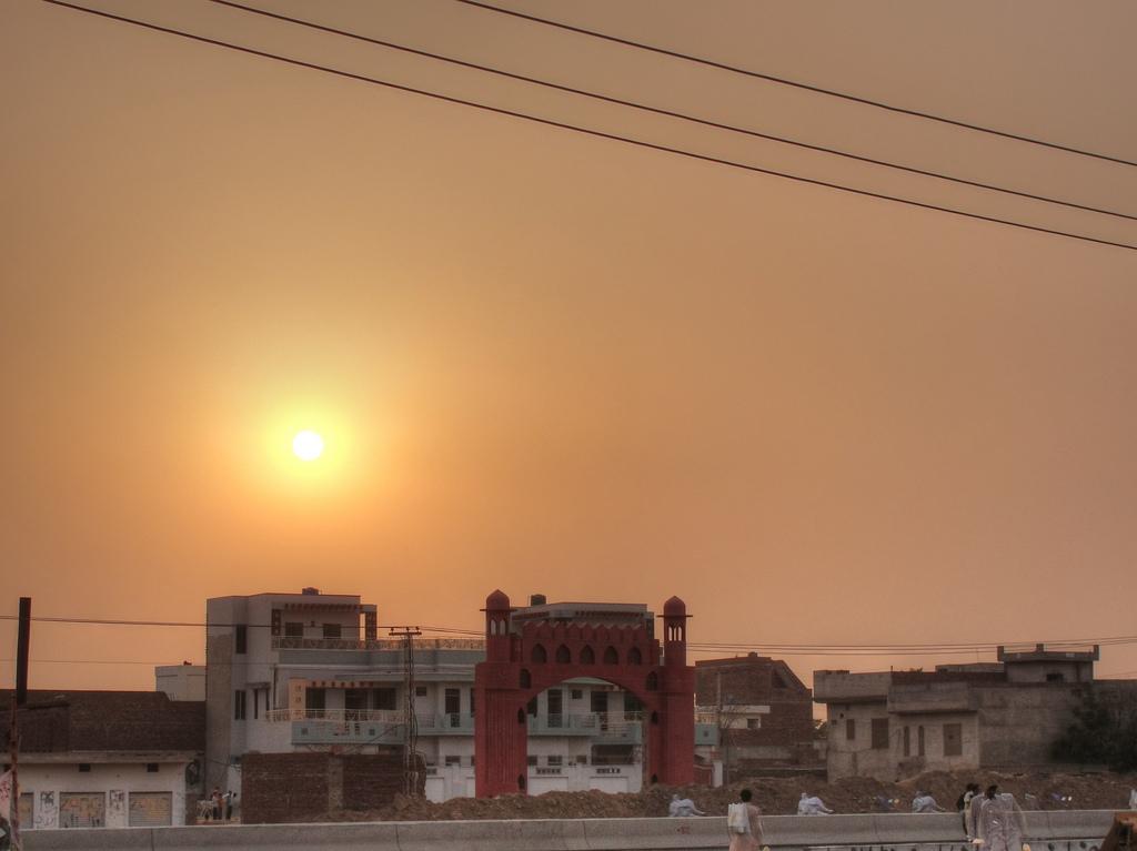 Sunset at Muridke, home to the Lashkar-e-Tayyaba. Credit: BlackZero/Flickr