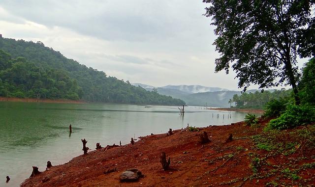 The Kali river on the Western Ghats. (Photo: Sarangib, pixabay.com)