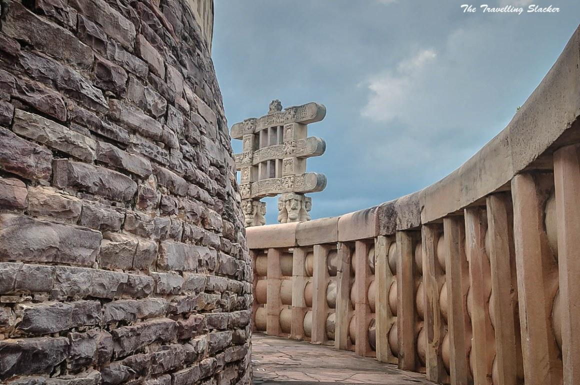 Sanchi stupa. Credit: Travelling slacker/Flickr