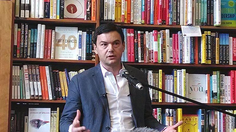 File photo of Thomas Piketty. Credit: Sue Gardner