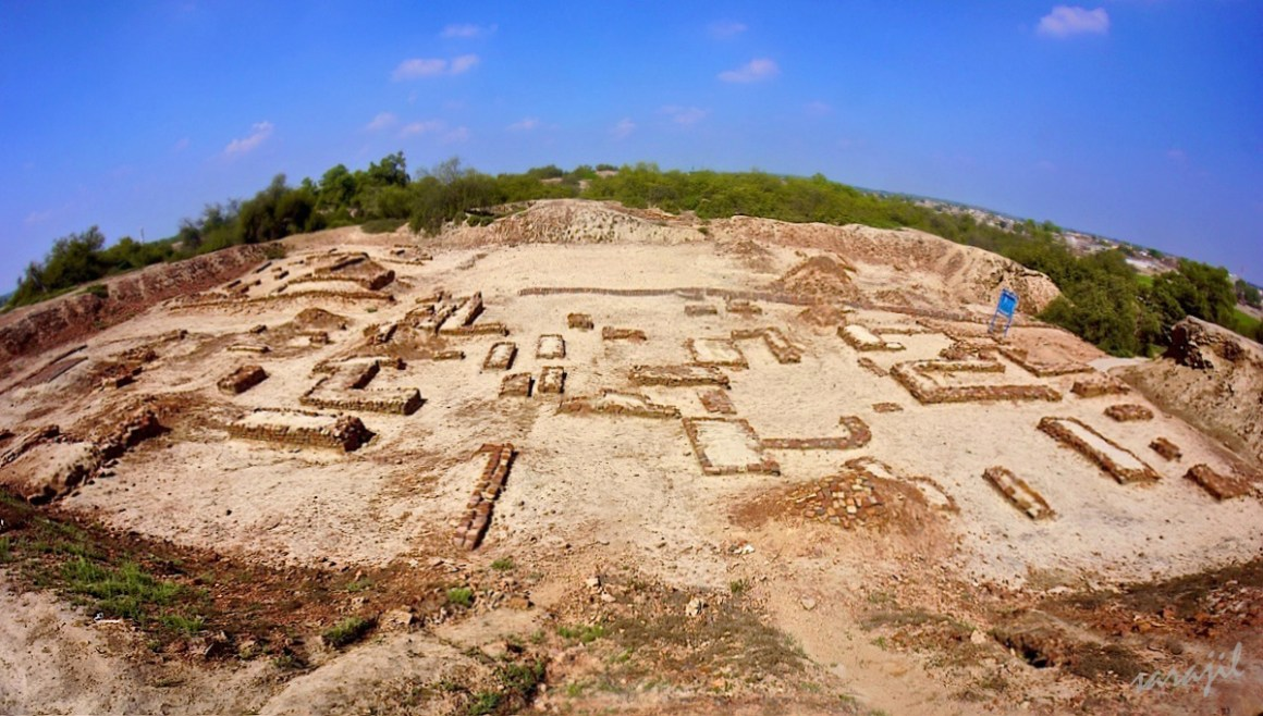 The archaeological site of Harappa, of the Indus Valley civilisation. Credit: Wikimedia Commons