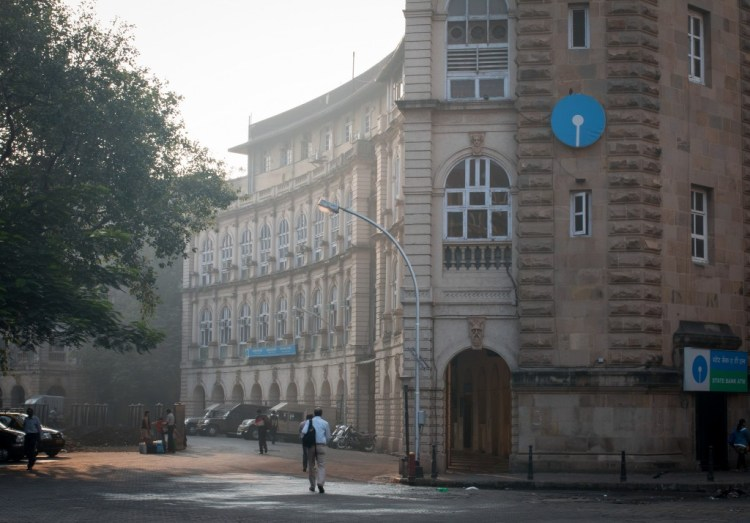 A view of the State Bank of India's headquarters. Credit: Roshan Panjwani