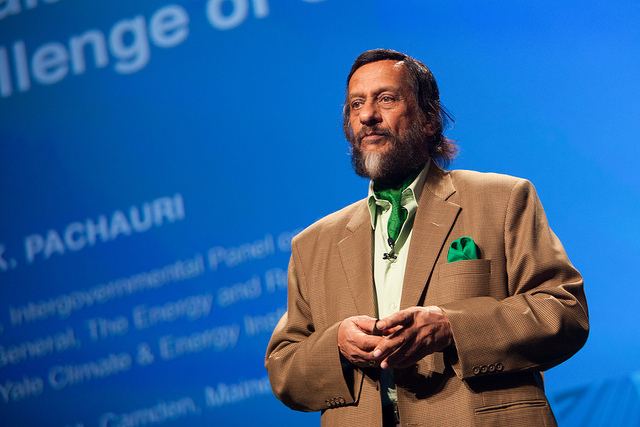 RK Pachauri. Credit: Kris Krug/Flickr CC BY-NC-ND 2.0
