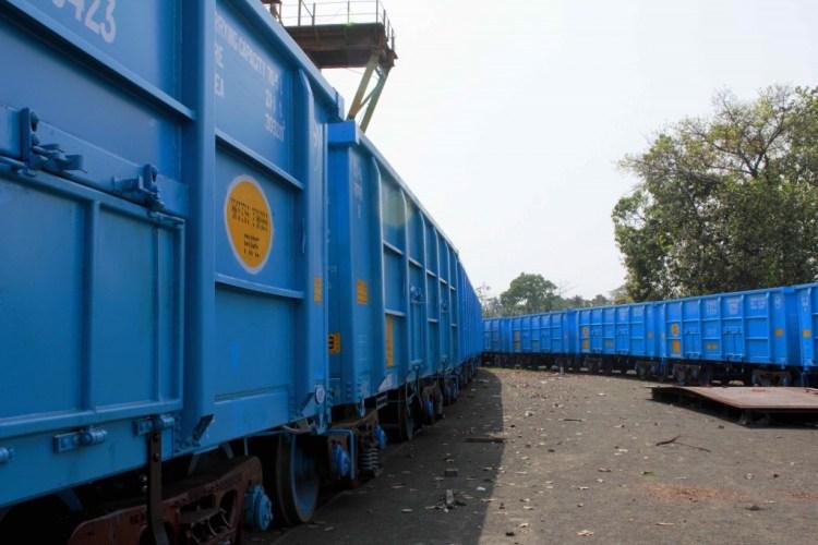 Freight wagons. Credit: Shome Basu