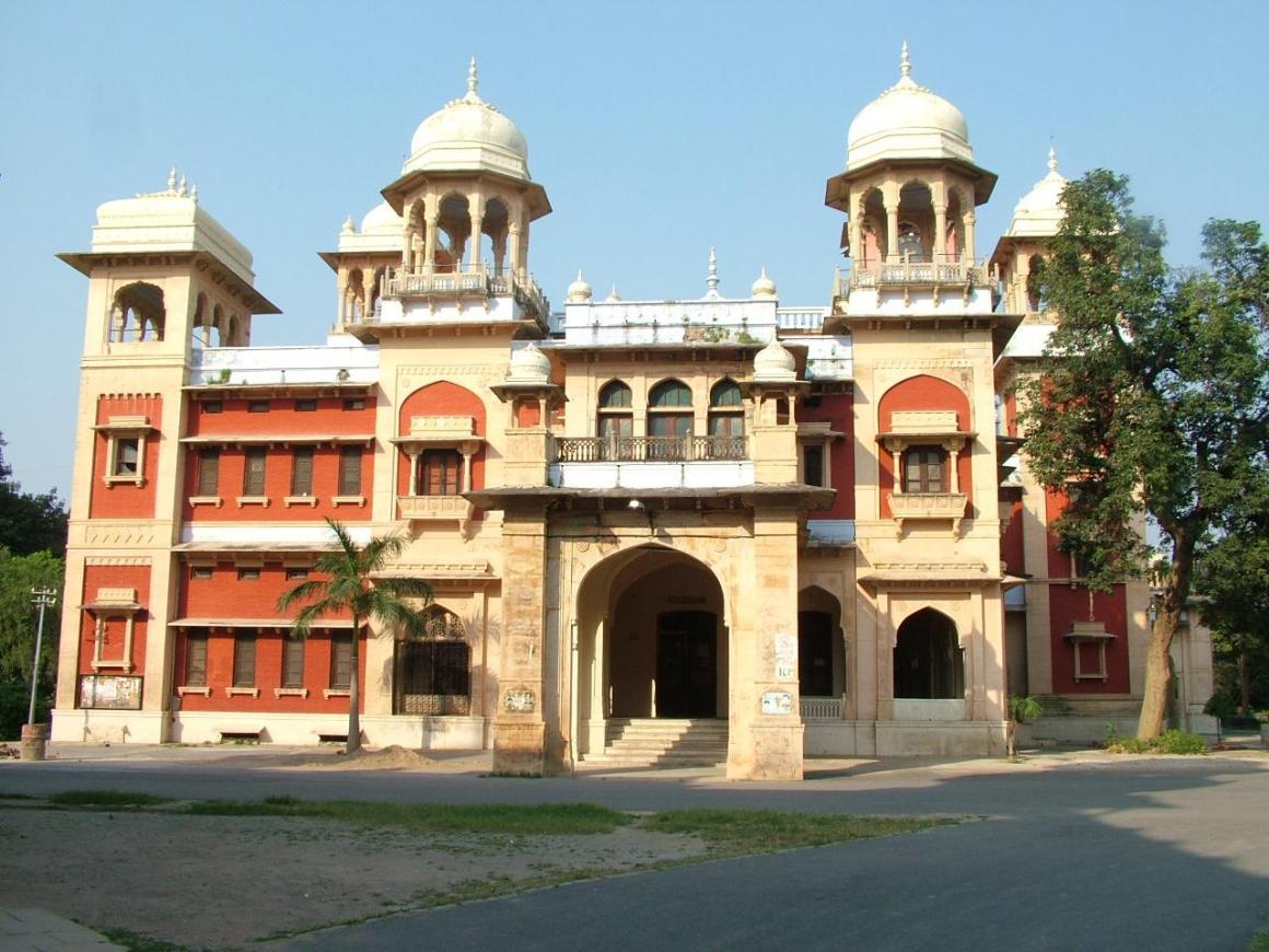 Allahabad University. Credit: allahabad.nic.in