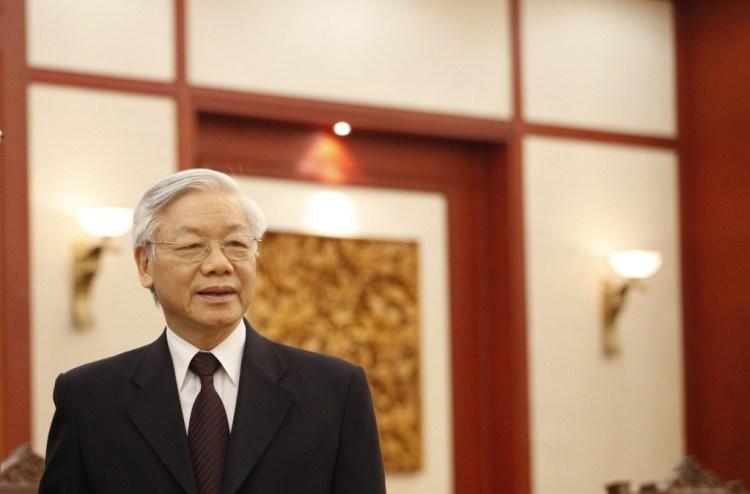 vietnamese leader nguyen phu trong