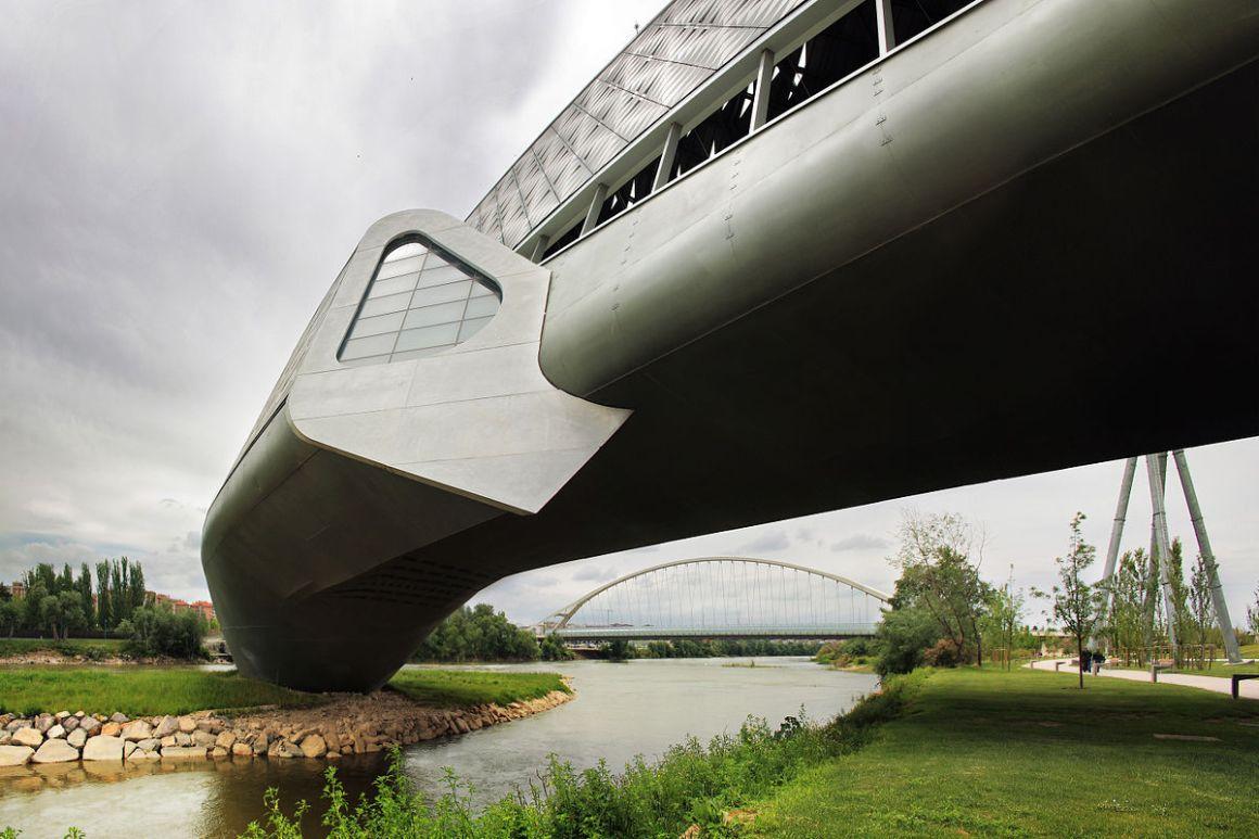 Bridge pavilion, Spain. Credit: Wikimedia Commons