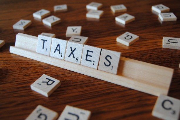 Spelling out taxes. Credit: GotCredit/Flickr, CC BY 2.0