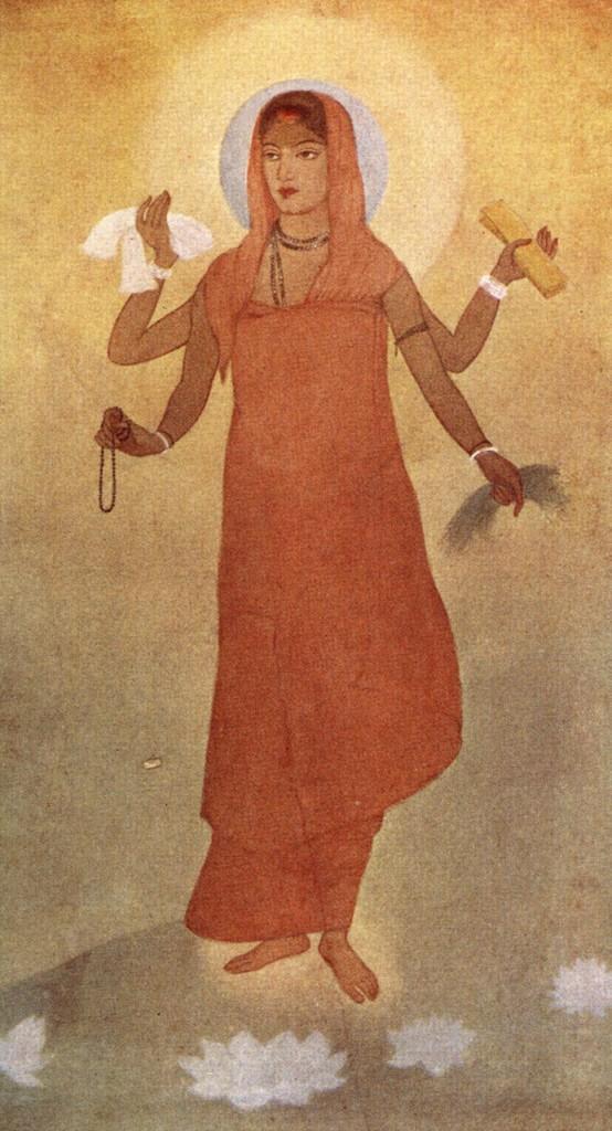 Bharat Mata. Credit: Abanindranath Tagore [Public domain]/Wikimedia Commons