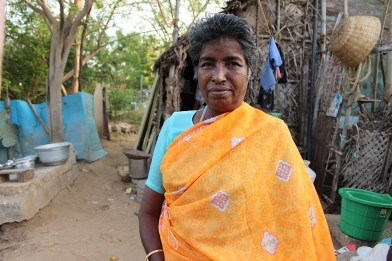 Burmese refugee Lakshmi has no one to care for her in her old age. Credit: Sandhya Ravishankar